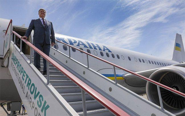 Фото: Порошенко с рабочим визитом в Днепропетровской области (president.gov.ua)