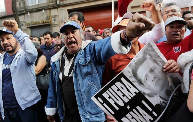 430 человек задержаны вМексике занападения намагазины играбежи