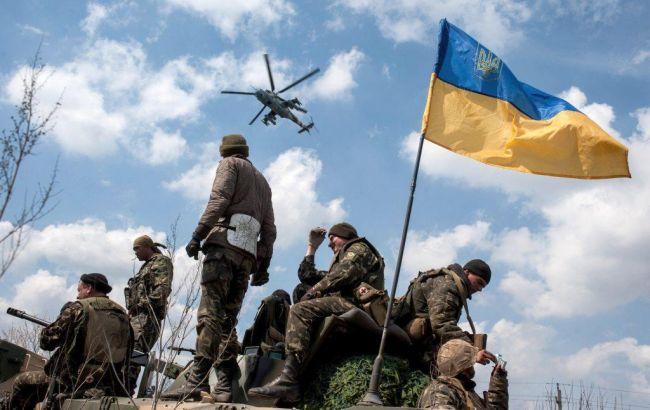 Боевики изминометов обстреливали позиции сил АТО вЛуганской области
