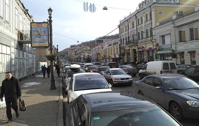 Фото: пробки в столице
