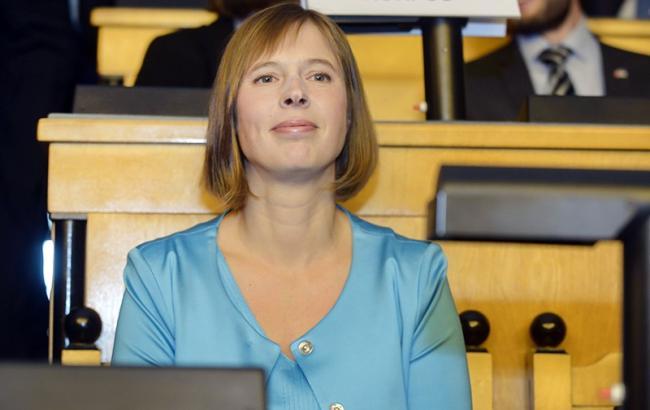 Фото: президент Естонії Керсті Кальюлайд