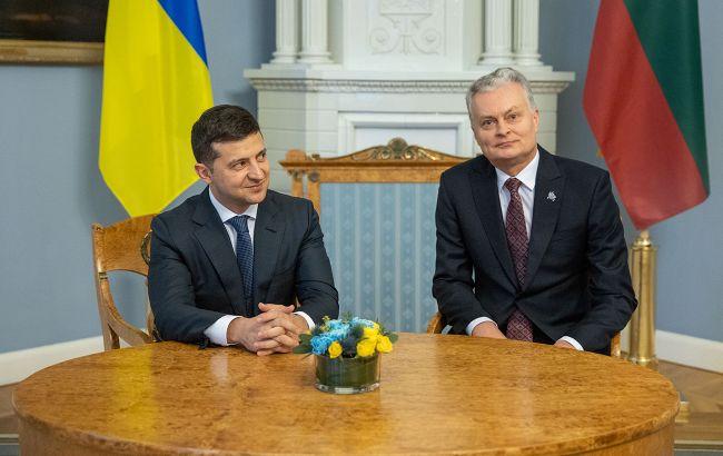 Украина и Литва планируют видеовстречу президентов в декабре