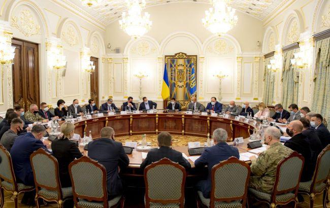 Нові санкції, кібербезпека і перевірка держдач: як пройшло засідання РНБО