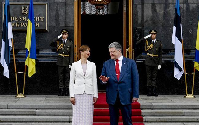 Естонія підтримує Україну в інтеграційних прагненнях в ЄС і НАТО