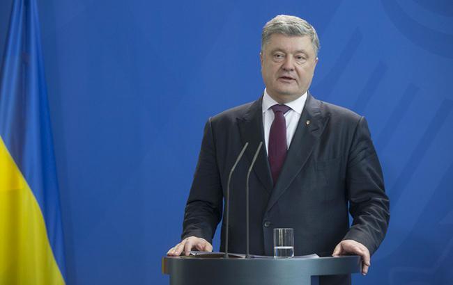 Что касается создания Антикоррупционного суда, то, по словам Петра Порошенко, этот вопрос не обсуждался (Фото: president.gov.ua)