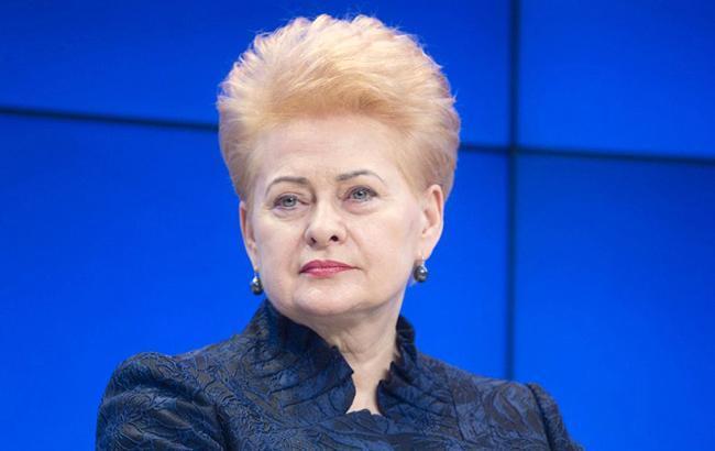 Президент Литвы посетит Украину 7 декабря