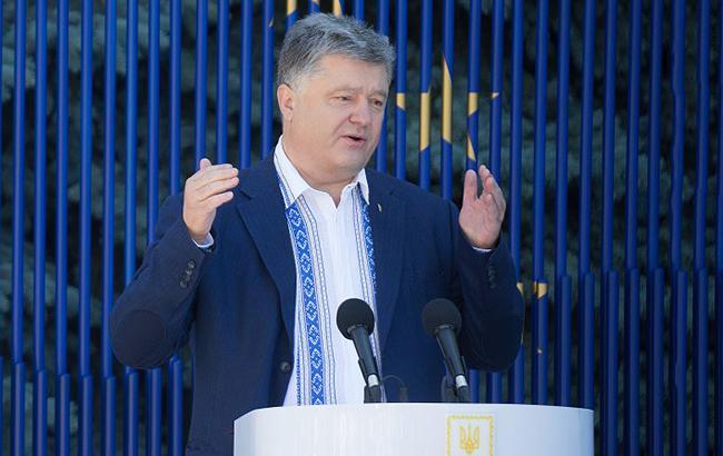 Порошенко заявил, что больше половины украинцев доверяют украинской полиции