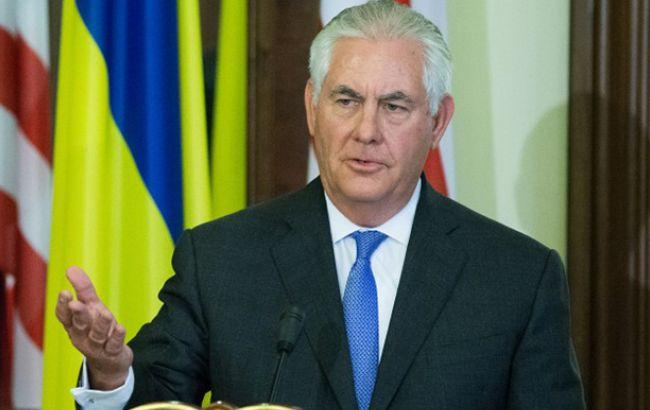Тіллерсон і Лавров у телефонній розмові обговорили ситуацію в Сирії та Україні