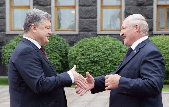зачем Александр Лукашенко приехал в Украину