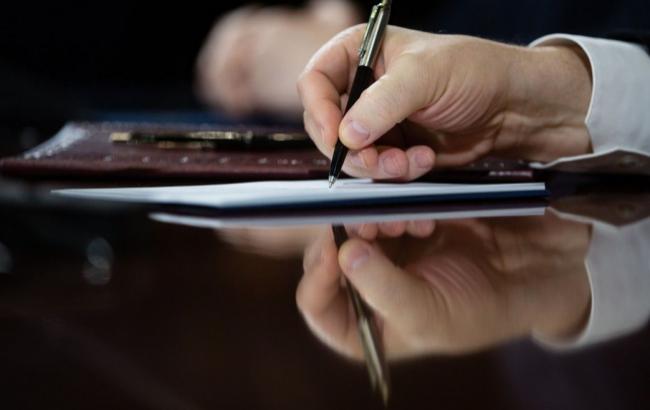 Фото: президент одобрил соглашение с ОПЕК о защите инвестиций (prezident.gov.ua)