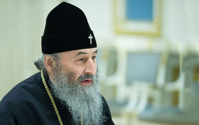 """Онуфрий призвал Порошенко остановить """"захват храмов"""""""