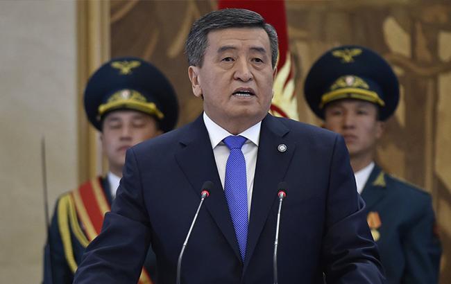 Новый президент Киргизии официально вступил в должность