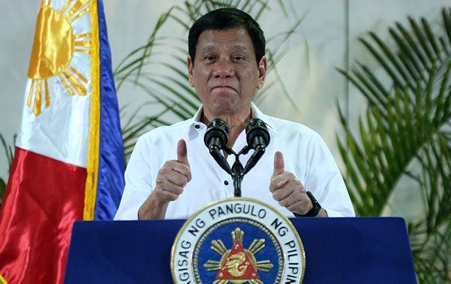 Фото: президент Філіппін Родріго Дутерте (Wikimedia)