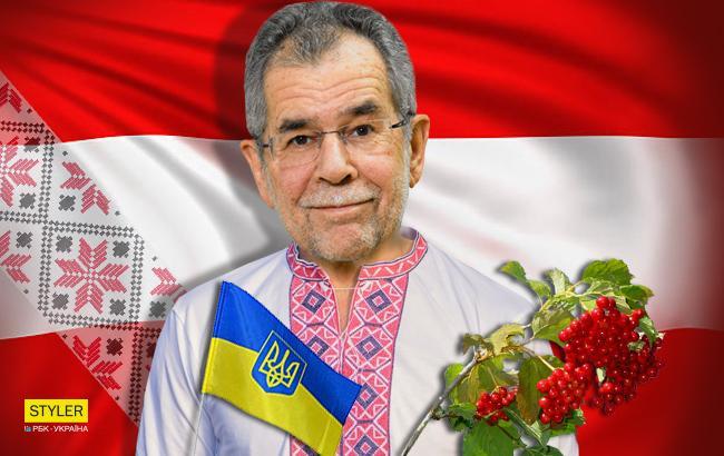 """""""Теперь немного украинец"""": президент Австрии обнаружил у себя украинские корни"""