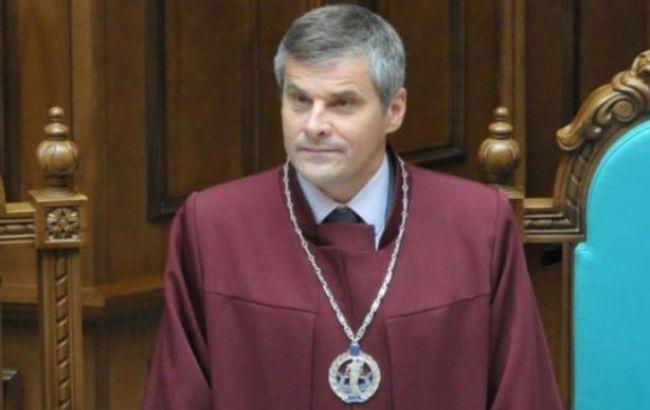 Суддя КСУ Мельник написав заяву про відставку
