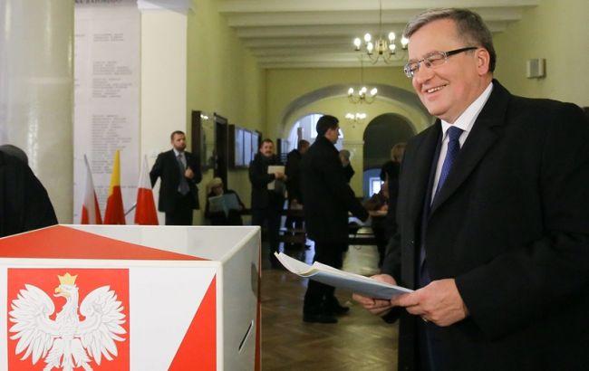 Фото: действующий Президент Польши Бронислав Коморовский