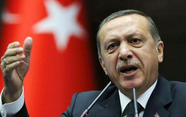 Ердоган звинуватив країни Заходу в підтримці тероризму і перевороту