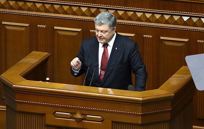 Миротворці ООН мають бути розміщені на всій території окупованого Донбасу, - Порошенко