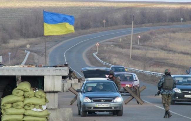 Бойовики обстріляли блокпост у Луганській обл., один прикордонник поранений