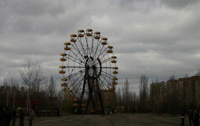 Фото: Символ покинутой Припяти - колесо обозрения (facebook.com)