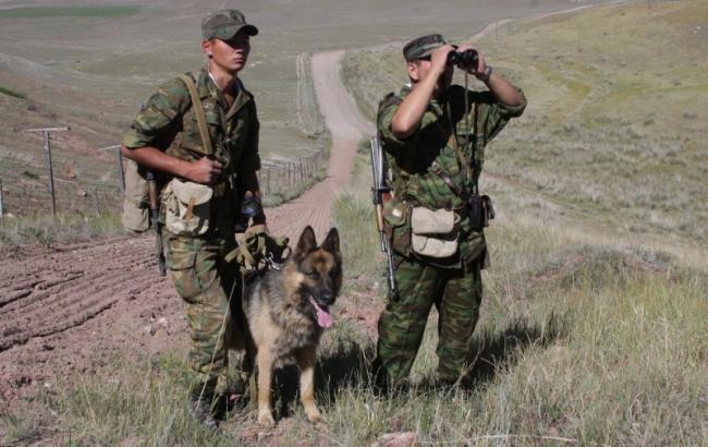 Фото: российские пограничники