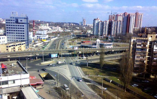Фото: проспект Науки в Києві