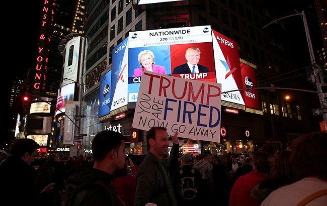 Фото: протести в США