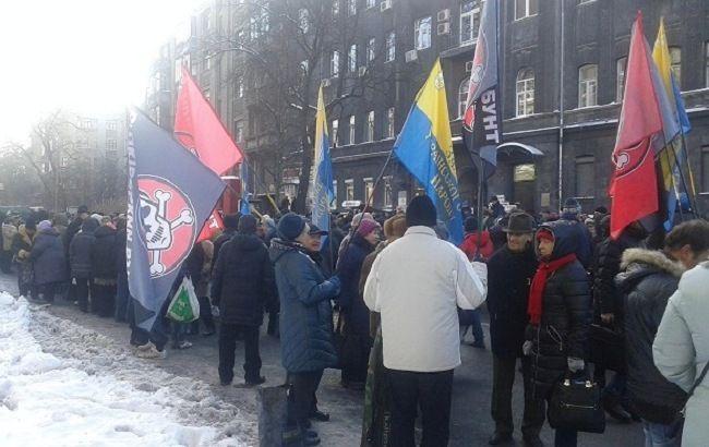 Фото: акции протестов остаются достаточно популярными среди украинцев