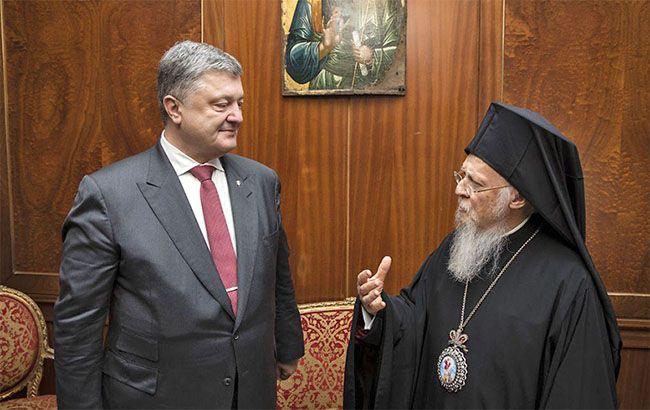 Порошенко провел встречу со Вселенским патриархом Варфоломеем I