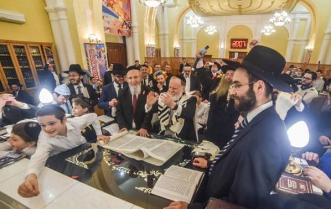 В Одесі відсвяткували найвеселіше єврейське свято року
