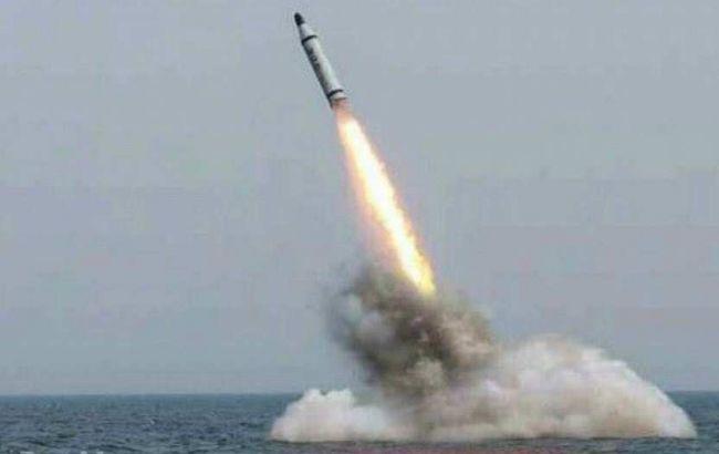 Фото: запуск корейської ракети з підводного човна