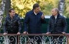 Фото: Янукович з Путіним і Медведєвим (Svit24.net)