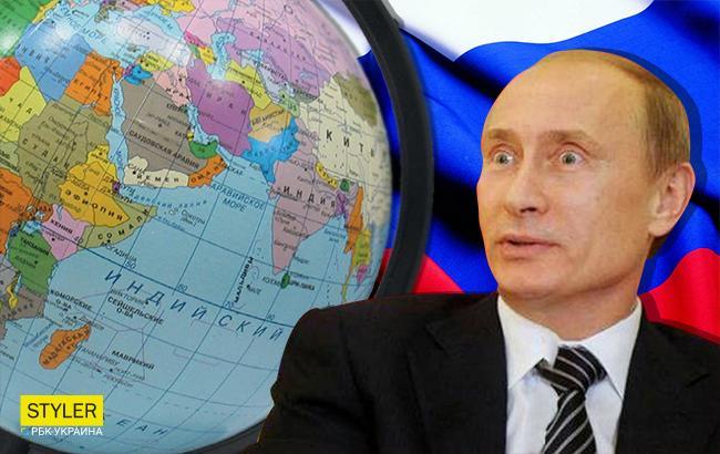 Фото: Володимир Путін не може укласти в голові розмаїття народів і мов (Колаж РБК-Україна)