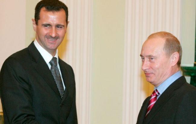 Путін і Асад провели зустріч у Москві