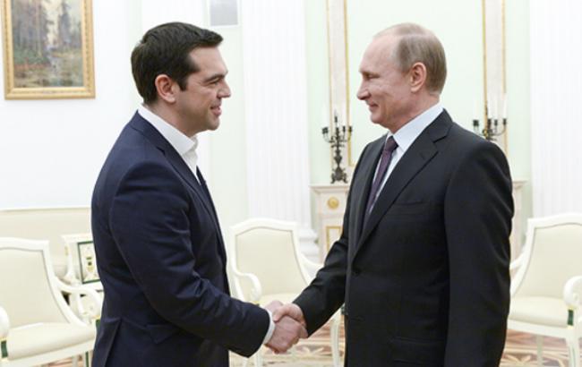 Путін допустив виділення кредитів Греції при спільних проектах