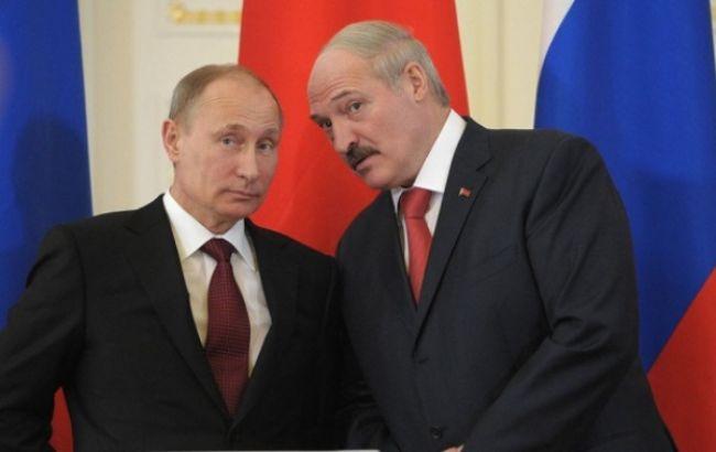 Фото: Владимир Путин и Александр Лукашенко
