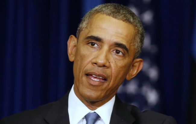 Обама напомнил Путину оМинских соглашениях ипродолжающихся боях