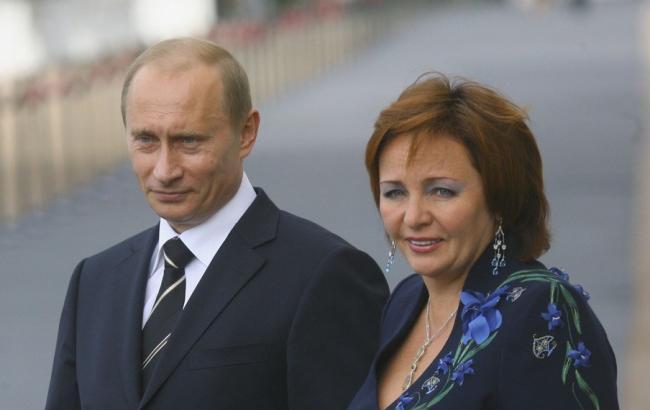 Колишня дружина Путіна пов