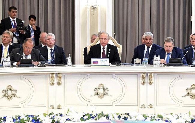 Фото: каспійський саміт (kremlin.ru)