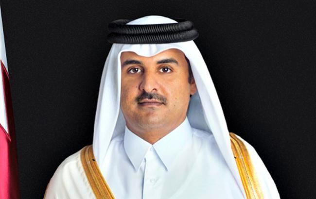 Фото: емір Катару Хамад Аль Тані (QNA)