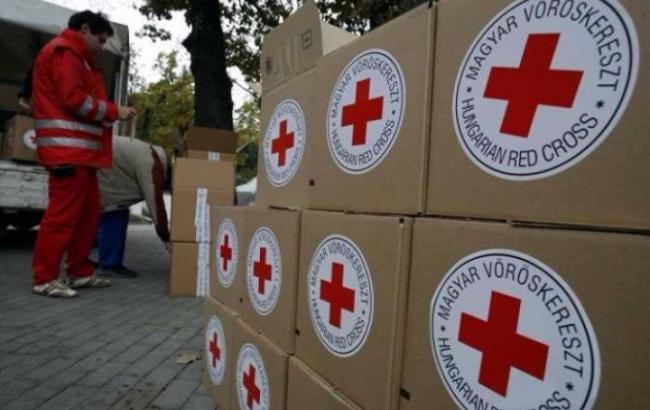 Красный Крест доставил 80 тонн гумпомощи жителям Донбасса