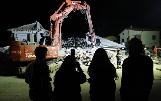 Фото: землетрус в Італії (Ansa)