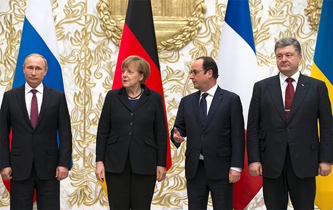 Следующая встреча лидеров Нормандской четверки намечена на октябрь