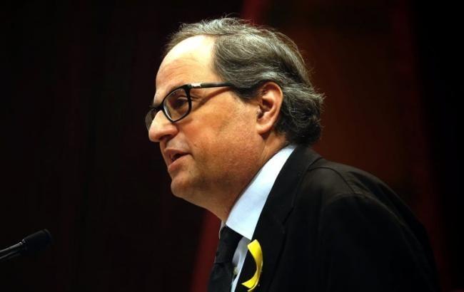 Глава правительства Каталонии вылечился от коронавируса