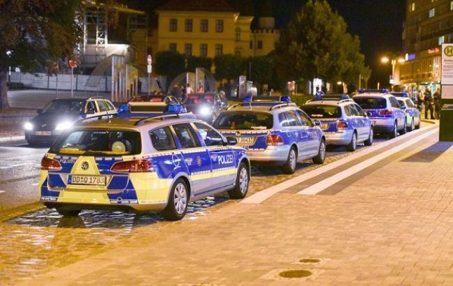 Фото: массовая драка в Германии