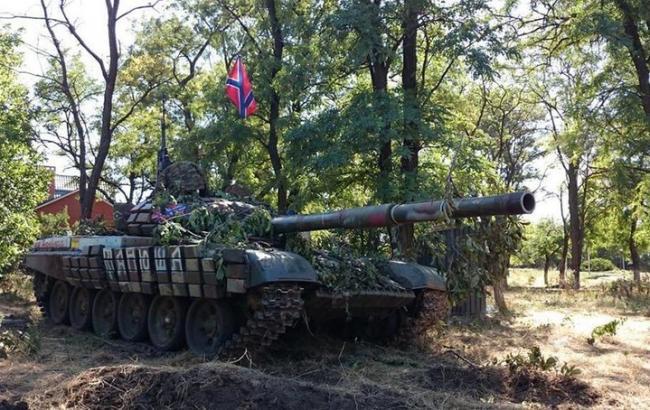 Фото: танк ДНР