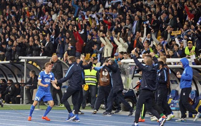 """Фото: """"Дніпро"""" виходить у півфінал Ліги Європи"""
