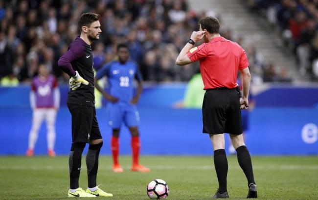 Французы два раза пострадали отсистемы видеоповторов вфутболе