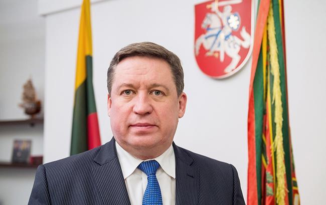 Министр обороны Литвы Раймундас Кароблис