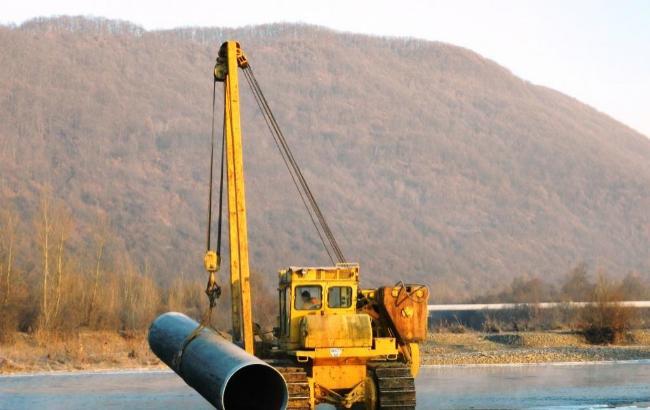 Фото: робота з відновлення герметичності газопроводу завершена